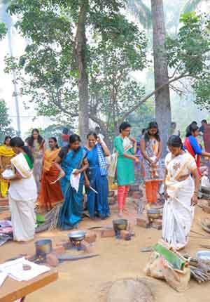 ponkala image of venganor sree neelakeshi mudippura festival